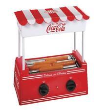 Nostalgia Hdr8ck Coca Cola Roller Warmer 8 Hot Dog And 6 Bun Capacity