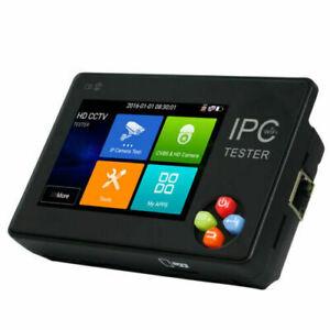 "3.5"" 5in1 CCTV AHD CVI TVI CVBS IPC Camera Tester 4K WIFI H.265 IPC-1600ADH Plus"