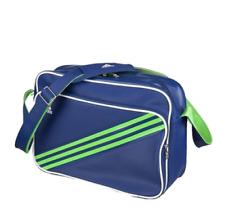 Adidas Enamel 3-Stripe Shoulder Bag - Medium Blue/Green Bag