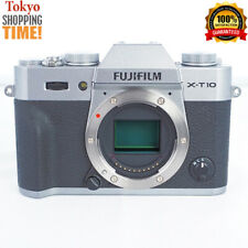 FUJIFILM X-T10 Mirrorless Digital Camera Silver Body EXCELLENT Cond. from Japan