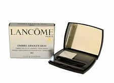 LANCOME OMBRE ABSOLUE DUO RADIANT SMOOTHING EYE-SHADOW SHADE#G01- 2*0.05 OZ. (D)