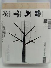 Stampin Up Unmounted Season of Friendship Seasonal Tree You Decorate Stamps Cute