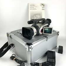 Canon DM-GL1A Mini DV Professional Video Camera Camcorder 3CCD Digital 100X Zoom