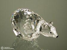Swarovski 7649 NR085000 Kingdom Of Ice Series Lead Crystal Large Polar Bear