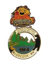 PIN/HATPIN Vintage McGregor MN Cornfeed Hinged Pin LIONS CLUB MEMORABILIA