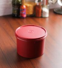 Tupperware Store All Medium Canister Container Maroon color- 1.3 Ltr.- 1 Piece