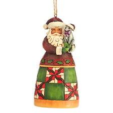 "/""santa with train/"" Jim shore figure 4042971-ENESCO Christmas Hanging Ornement"