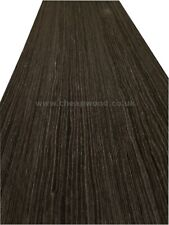 "Black Oak Wood Veneer  2500mm x 630mm / 98,4"" x 24,8"""