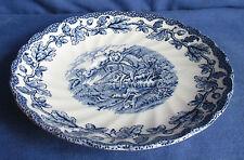 Myotts, Schüssel 21,5 cm,  Servierschüssel Country Life blau, Keramik