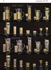 West Virginia Glass Specialty decorations, 1948-1984 - catalog pages & ads