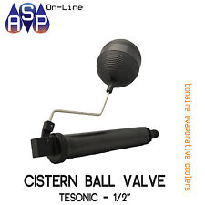 "CISTERN BALL VALVE TESONIC 1/2"" FOR BONAIRE EVAPORATIVE COOLER - PART# 6050916SP"