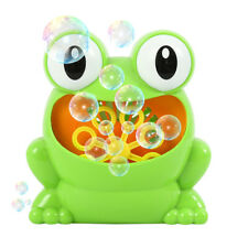 Kids Children Bubble Machine Blower Solution Birthday Party Bubble Toy Battery