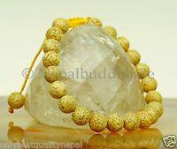 Bracelet Lotus Grains Bouddhisme Nature Buddha Illumination Amovible s15