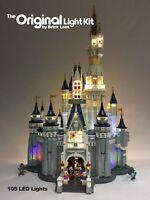 Deluxe Version LED Lighting Kit for LEGO ® Disney Castle 71040