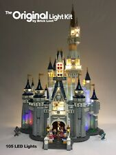 Deluxe Version LED Lighting Kit for LEGO ® Disney Castle 71040