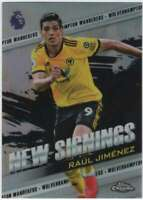 2018-19 Topps Chrome Premier League New Signings #NS-RJ Raul Jimenez