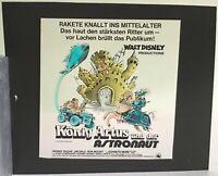 Kino # Film-Werbe-Dia # 85mm x 85mm # Walt Disney: König Artus und der Astronaut