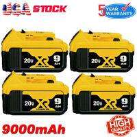 NEW 20V For DeWalt 20 Volt Max XR 9.0AH Lithium Ion Battery DCB206 DCB205 DCB200