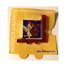 Disney Spinner Pin TinkerBell Magic Kingdom Annual Passholder 1 of 4 LE 7000 NEW