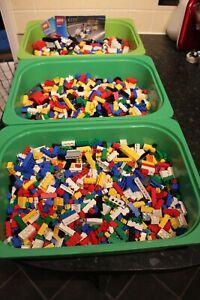 Lego Bricks - Huge Mixed Bundle Job Lot  - 3.5 kg with Lego box