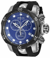 Invicta Men's 16149 Venom Analog Display 54mm Swiss Quartz Black Watch