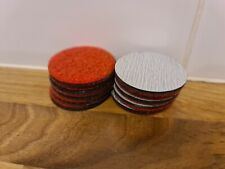 More details for 10pcs rti eco elm -red sanding pads for disc repair machines. oem product