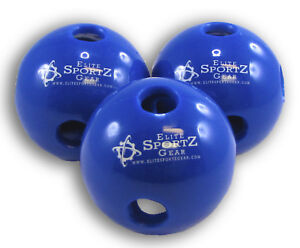 "Baseball Hollow Balls Lite Hitting Ball Flex Training 1 Doz Durable Thick 9"""