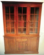 New ListingEthan Allen Mission American/Impress Cherry China Cabinet Breakfast Front Hutch