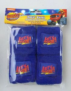 Blaze and the Monster Machines Sweat Bands Wristband Cuff 8 Pack