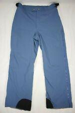 Vintage Columbia Men's Side Zip Away Snow Pants Gore-Tex Blue Size Large