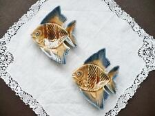 COPPIA VINTAGE Wade PORCELLANA Angel Fish PIN Dish-CAPRICCI