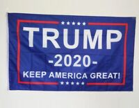 Trump 2020 Flag Keep America Great 3x5 Feet w/Grommets FREE Shipping!!