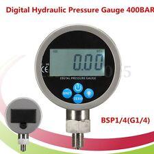 Digital Hydraulic Pressure Gauge 400BAR 40Mpa 10000PSI BSP1/4(G1/4) Connector