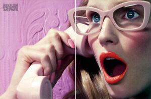 2011 Miles Aldridge Katrin Thormann Beauty 9-page MAGAZINE EDITORIAL