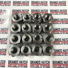 16 x ford sierra et escort rs cosworth inox auto verrouillage exhaust nuts