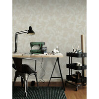 Floral Removable wallpaper brown and gray wall mural wall covering
