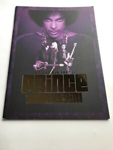 PRINCE Hit + Run Part II  3rd Eye Girl Official Concert Programme  2014 RARE