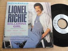 "DISQUE 45T DE LIONEL RICHIE  "" BALLERINA GIRL """