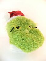 DR SEUSS GRINCH CHRISTMAS HAT HAND PUPPET BRAND NEW GREAT GIFT