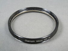 Canon 55mm UV 1x Filter, s. g. Zustand, Glas sehr gut