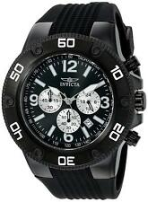 Invicta 20274 Pro Diver Men's Chronograph 52mm Black-Tone Steel Black Dial Watch