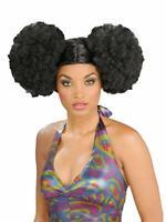 Forum Novelties Deluxe Unisex 70s Disco Brown Afro Wig Halloween Costume 65433