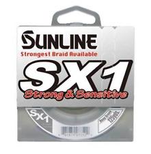 Sunline SX1 Braided Fishing Line 125yd. Spool Dark Green