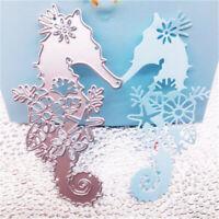 Stanzschablone Seepferdchen Weihnachten Geburtstag Hochzeit Oster Album Karte