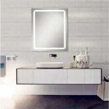 NEUF Mural Miroir de salle de bain LED blanc froid commutateur tactile 60 * 80CM