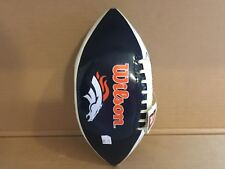 Denver Broncos Full Size Embroidered Football