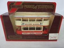 Matchbox Models of Yesteryear Preston Tramcar Y-15