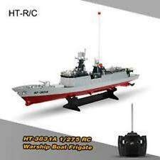 Original HT-3831A 1/275 Radio Control Electric RC Battle Warship Boat P1V4