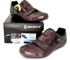 Scott Road Team Boa Bike Cycling Shoes Nitro Purple Women's Size 9 US / 41 EU