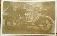 Advance Tricar/Three-Wheel Car/Motorcycle 1907 Realphoto Postcard - Automobile